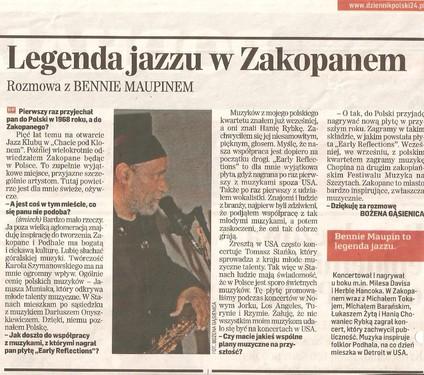 Dziennik Polski 4 czerwca 2010